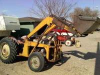 Good running Ferguson T O 30 tractor with loader and