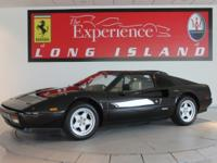 1986 Ferrari 328Only 8,039 from new. Nero over crema