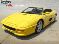 ***THIS IS THE ONE!! THIS IS A BEAUTIFUL 1998 FERRARI