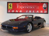 1999 Ferrari 355 Spider F1Only 4,871 miles from new.Blu