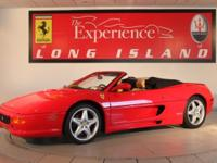 1999 Ferrari 355 Spider F1Only 11,428 from new. This