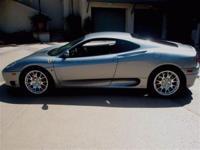 This 2000 Ferrari 360 Modena 2dr Coupe features a 3.6L