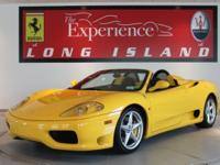 2004 Ferrari 360 Spider 6xOnly 4,912 miles, This