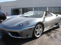 2003- 360 Spider- Rare 6 Speed Calling all enthusiasts