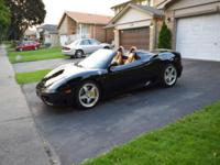 For sale is a 2002 Ferrari 360 Spider with the F1