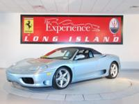 2001 Ferrari 360 Spider F1Only 5,959 miles from new.