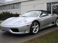 2001 Ferrari 360 Spider- Fully Serviced. Take a look at