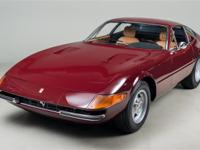 1972 Ferrari 365 GTB/4 Daytona VIN: 15735 This 365