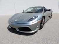 Extremely Clean 16M Scuderia Full Clear Bra on Front