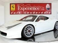 2012 Ferrari 458 ChallengeThis Ferrari 458 Challenge is