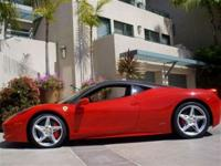 This 2010 Ferrari 458 Italia 458 Italia Coupe features