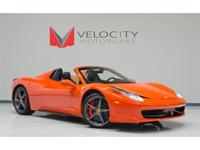 This very special 458 Spider features the exterior