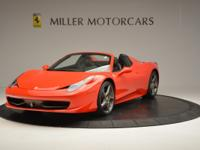 This is a Ferrari, 458 Italia for sale by Miller