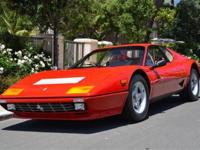 This 1984 Ferrari 512 BBi Coupe features a 5 liter,