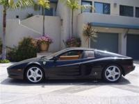 This 1992 Ferrari 512TR 2dr Coupe features a 4.9L V12
