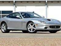 This 2004 Ferrari 575 2dr Maranello F1 Coupe features a