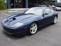This 2004 Ferrari 575 2dr Maranello F1 Coupe features a