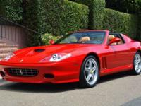 This 2005 Ferrari 575 2dr Superamerica Convertible
