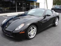 This 2007 Ferrari 599 GTB Fiorano 2dr Coupe features a