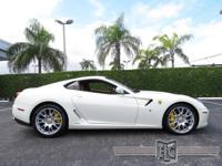 This 2010 Ferrari 599 GTB Fiorano 2dr Coupe features a