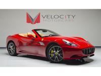 This Ferrari California comes equipped with the then