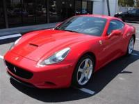 This 2010 Ferrari California 2dr Convertible features a