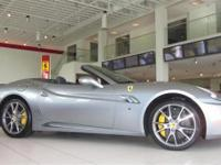 2010 Ferrari California in beautiful Grigio Titanio