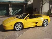 This 1999 Ferrari F355 2dr Spider F1 Convertible