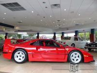 This 1990 Ferrari F40 2dr features a 2.9L V8 FI SOHC