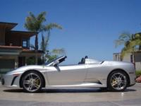 This 2006 Ferrari F430 2dr Spider Convertible features