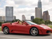 This 2007 Ferrari F430 2dr Spider Convertible features