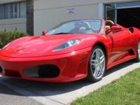 2007 Ferrari F430 Spider F1A sub four thousand mile