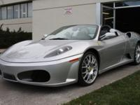 2006 F430 Spider- One OwnerFERRARI APPROVEDQUALIFIES