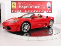2007 Ferrari F430 SpiderThe F430 Spider's innovative