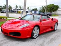 This is a Ferrari F430 Spider for sale by