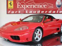 FERRARI 3602004 Ferrari 360 Spider F1This 360 Spider is