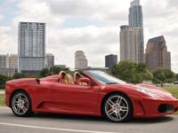 This 2007 Ferrari F430 Spider 2dr 2dr Convertible