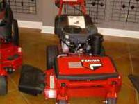 "Ferris 36"" walk behind commercial mower; brand new"