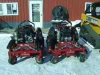 We picked up 2 of the new Ferris Evolution mowers and