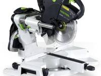 This is the most advanced sliding compound miter saw on