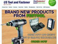 Festool's latest tools have arrived: *89 Piece