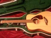 Guitar for sale. Fg700s Yamaha. Barely used. Nothing