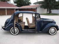 """Fiat 1100 E """"long nose"""", 1951, original registration"""