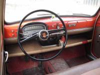 Fiat 1100/103 D, 1960, rosso corallo/black