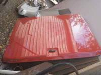 red cargo cover by century off my 99 chevy ext. cab