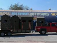 Landers Marine & Outdoors sells Fiberglass Deer Blinds
