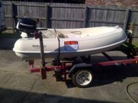 8.5 FT. Rigid Boats Dinghy tender. Extremely well built