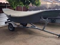 2000 10ft Fiberglass LAVARO DRIFT Boat (NO MOTOR) Seats