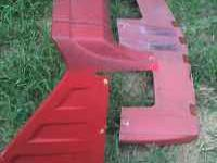 I HAVE A 2 PIECE SET OF SUNSHADE AND CAB EXTENEDER FROM