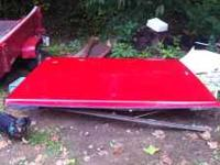 I'm posting a fiberglass tonneau cover off a 97 ford
